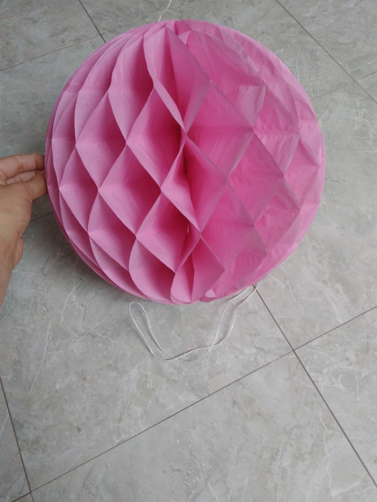 7 ks honeycomb růžový - Obrázek č. 1