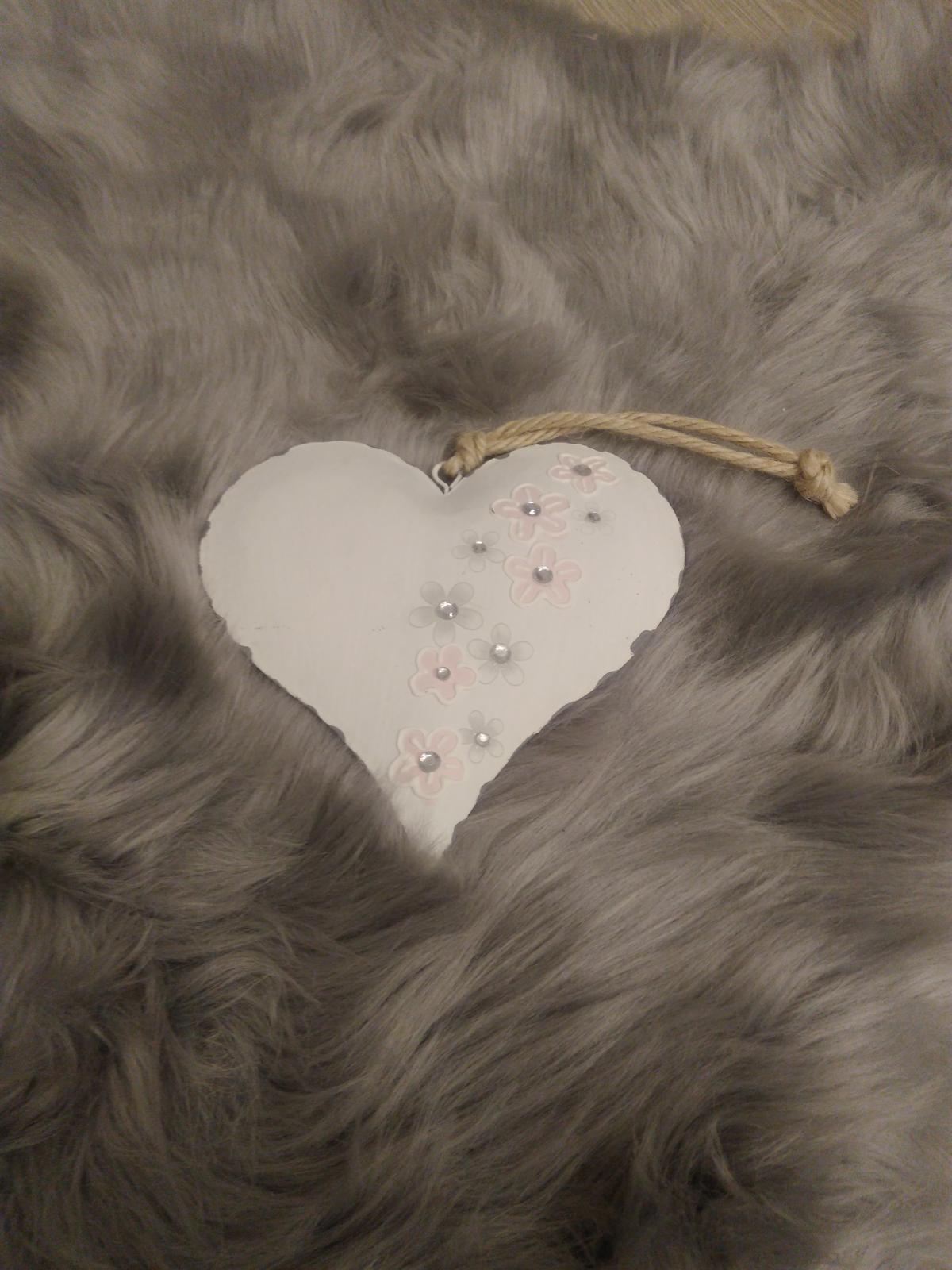 Ozdoba srdce - Obrázek č. 1