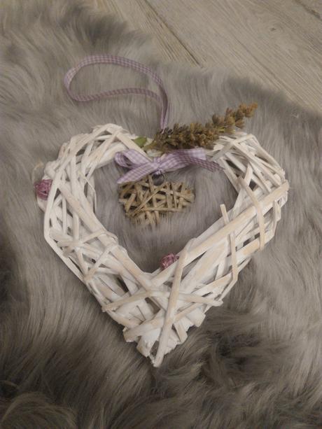 Ozdoba srdce Provence - Obrázek č. 1