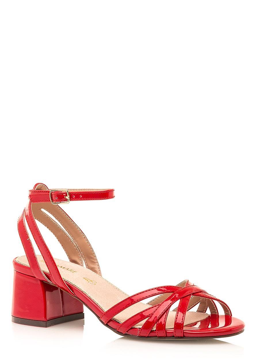 Červené sandálky Maria Mare  - Obrázek č. 1