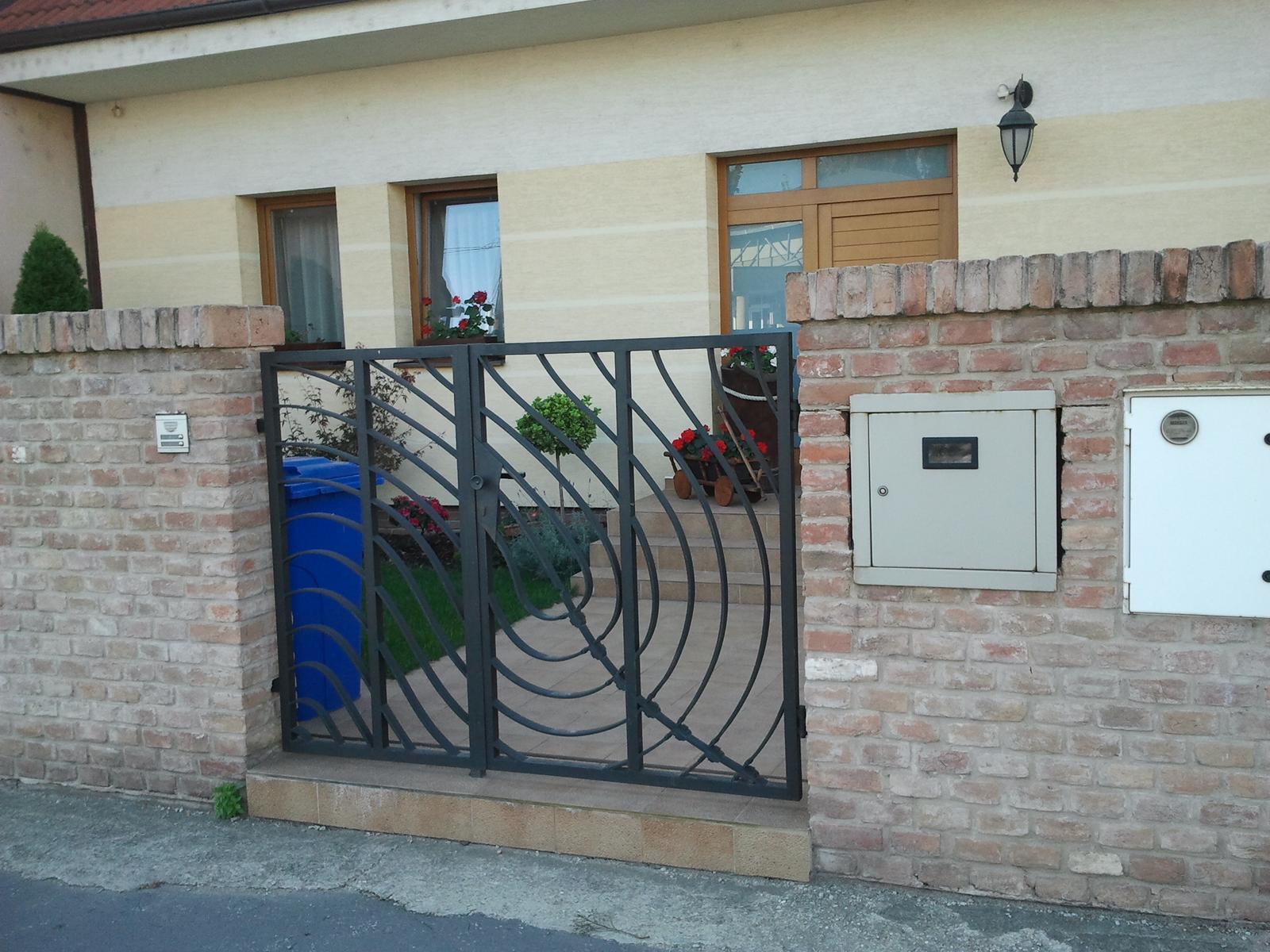 Brány, branky a ploty - Branka, umelecké zámočníctvo