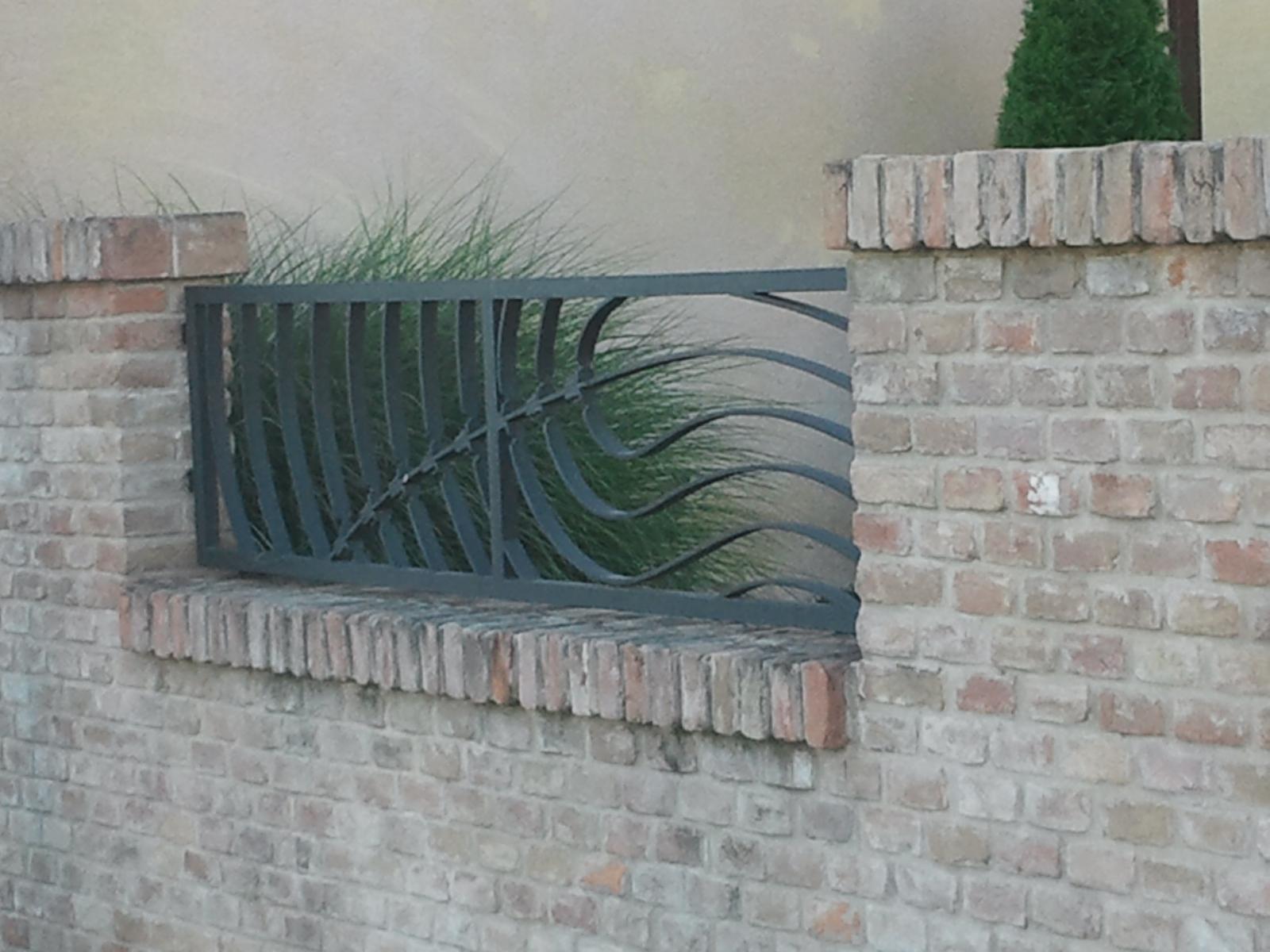 Brány, branky a ploty - Plot, umelecké zámočníctvo