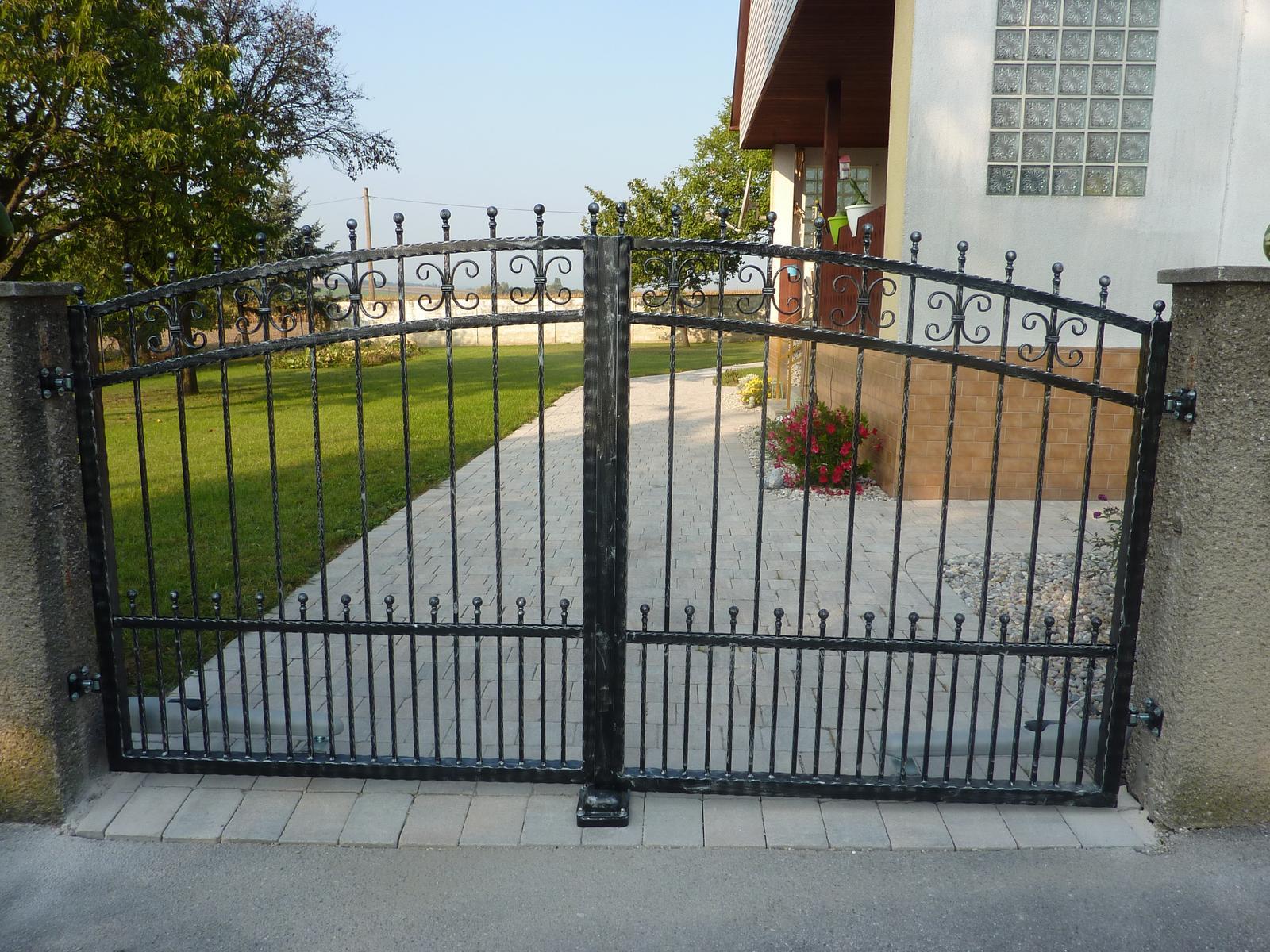 Brány, branky a ploty - Umelecké zámočníctvo