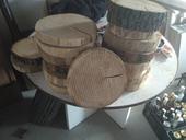 Dřevěné koláče,
