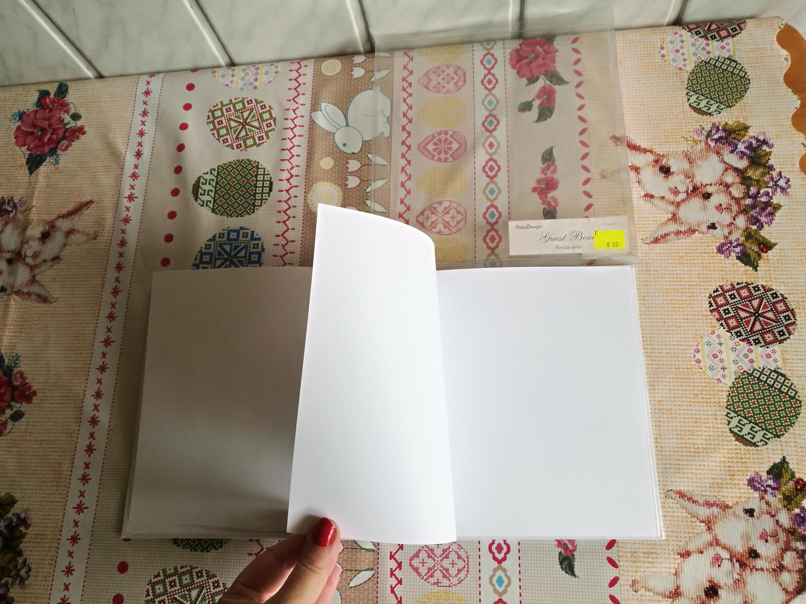 Svadobná kniha - Obrázok č. 1