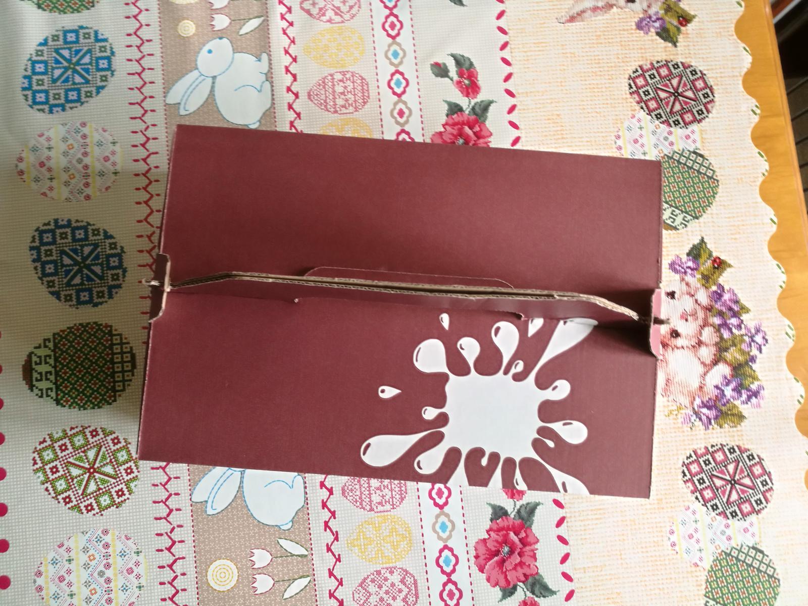 Veľká krabica na koláče - Obrázok č. 1