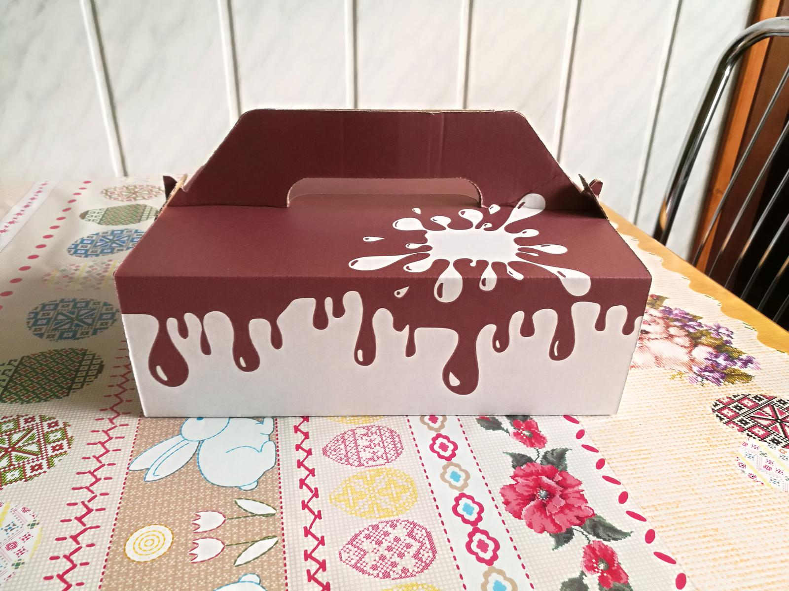 Veľká krabica na koláče - Obrázok č. 2