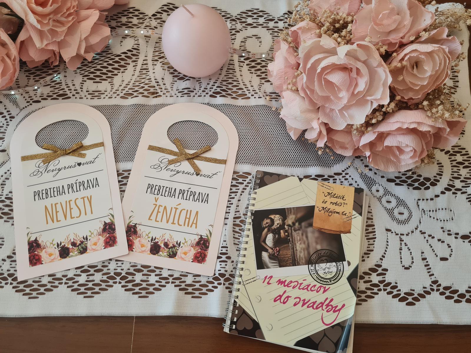Výzdoba a pomôcky na svadbu - Obrázok č. 3