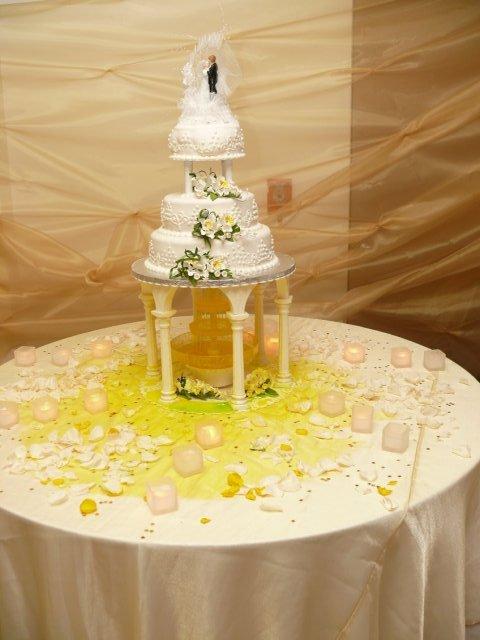 Janka Strenkova{{_AND_}}Michal Rabatin - svadobna  torta