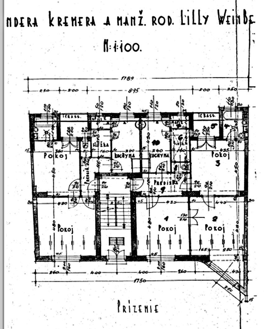 Rekonštrukcia bytu v národnej kultúrnej pamiatke - ten vpravo, 3izbovy