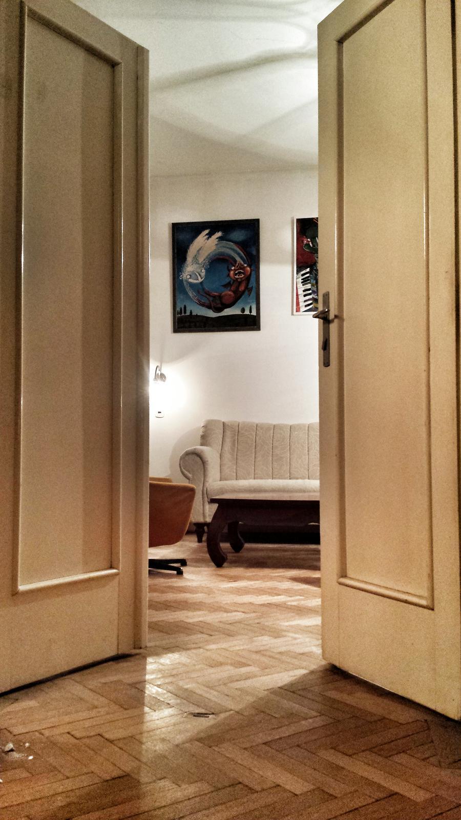 Rekonštrukcia bytu v národnej kultúrnej pamiatke - zatial sa provizorne zabydlujeme :)