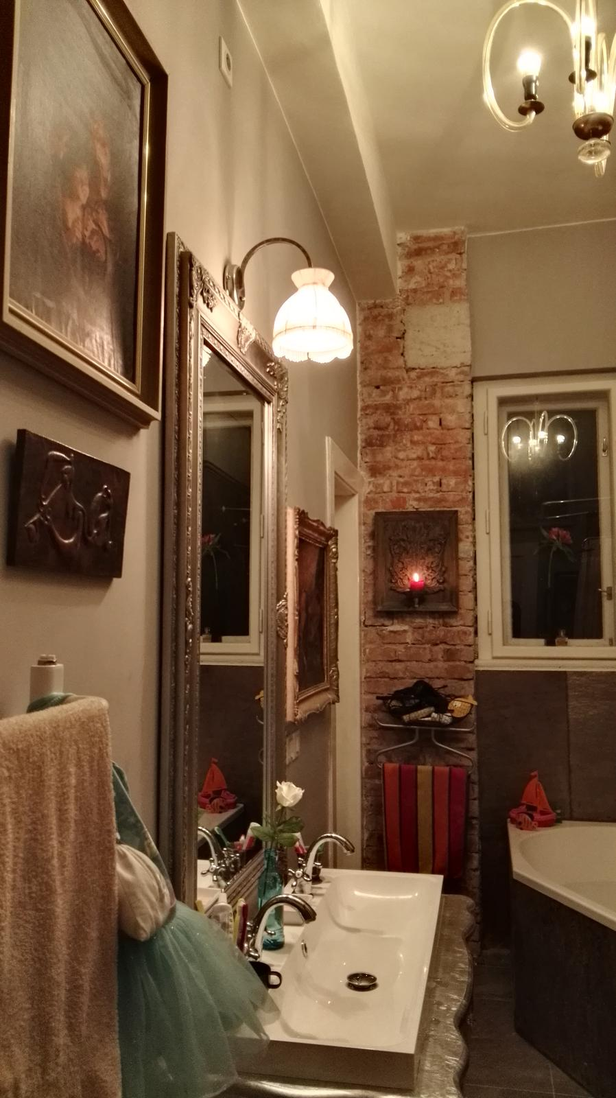 Rekonštrukcia bytu v národnej kultúrnej pamiatke - Uz sa mi to zaplna podla mojho gusta...:)
