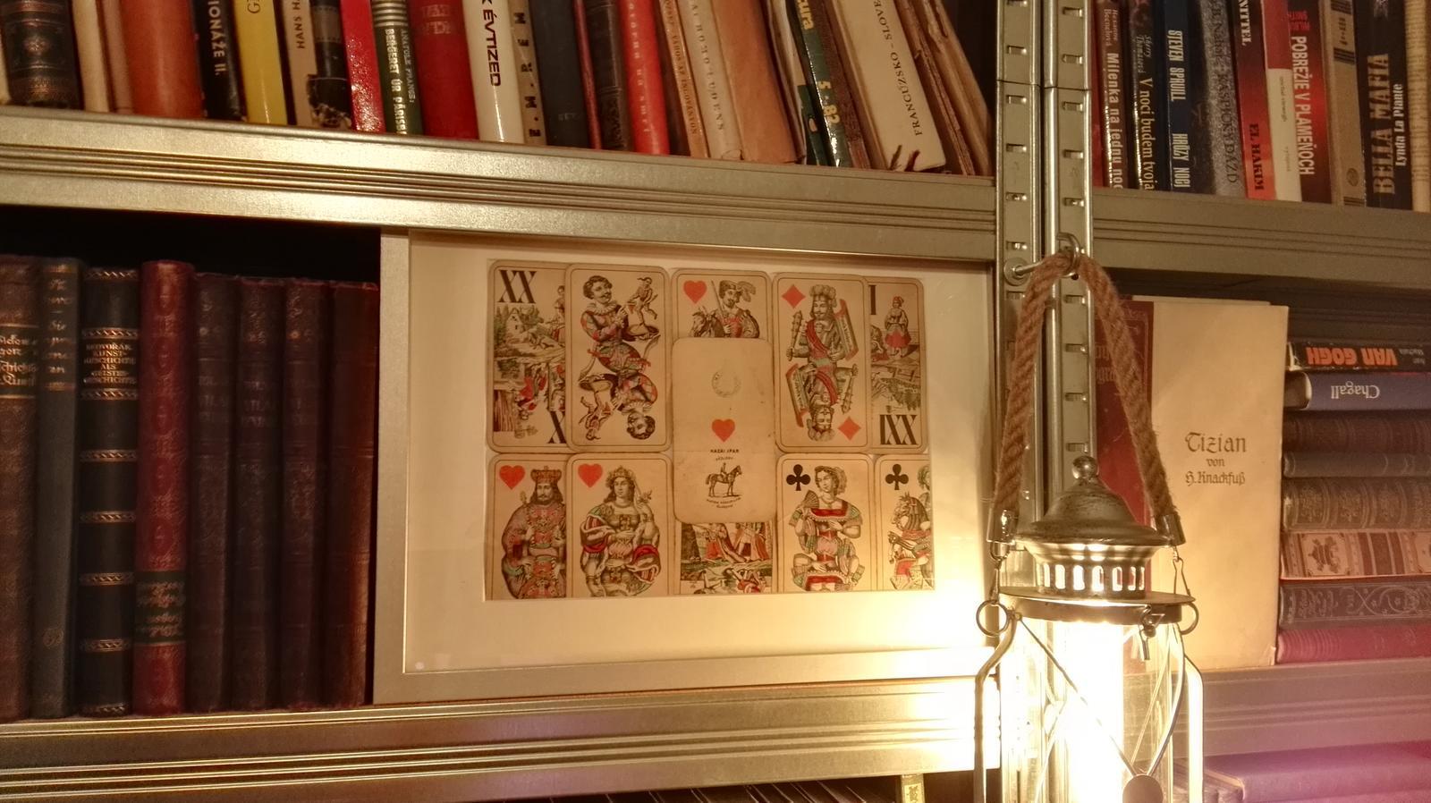 Rekonštrukcia bytu v národnej kultúrnej pamiatke - Dake zvlastne karty, ze predchodcovia dnesnych 7movych..je ich 42ks..kupila som vcera na numizmatickej burze