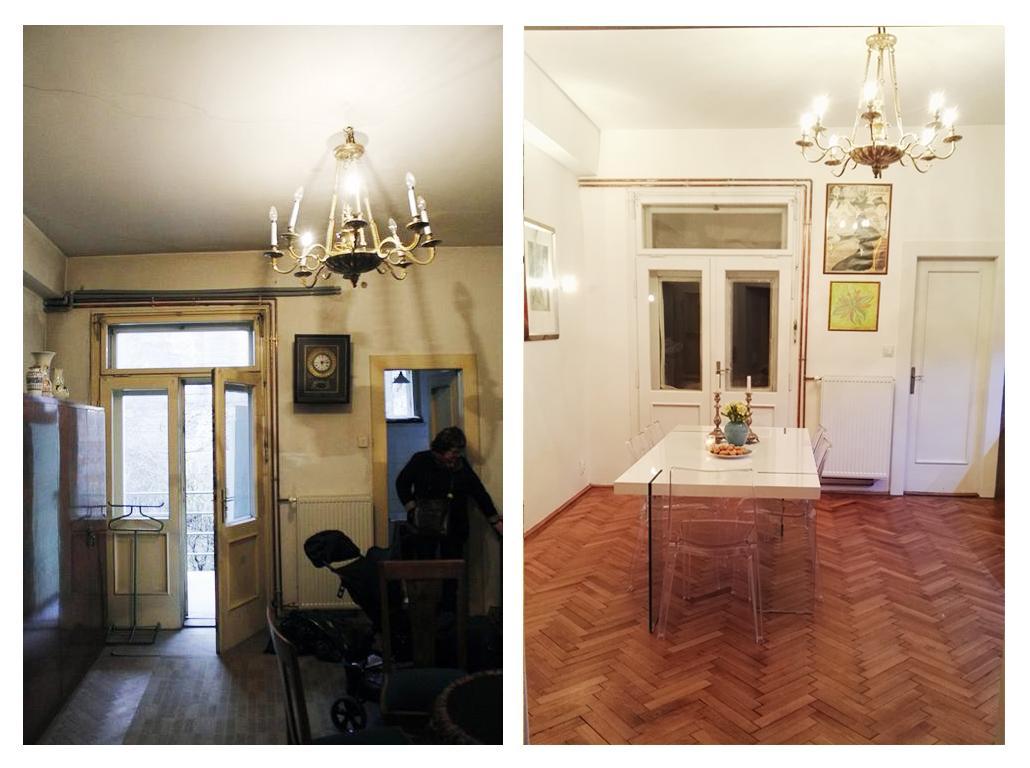 Rekonštrukcia bytu v národnej kultúrnej pamiatke - pred a po