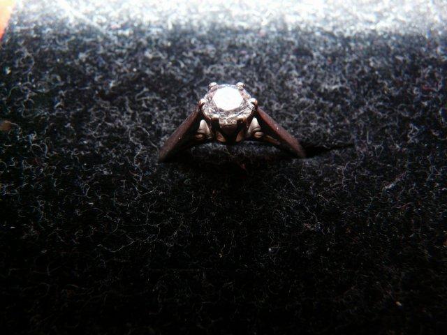 Gabika a Bubo - 9.máj 2009 - a môj snubny prsten :-)