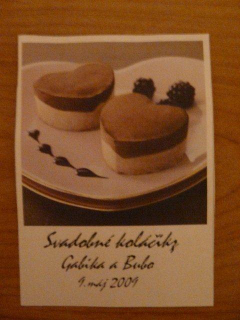 Gabika a Bubo - 9.máj 2009 - Prerobené etikety na koláčiky ...