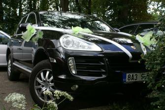 autí pro nevěstu, později pro novomanželé!