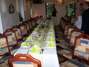 svatební tabule do zelena!