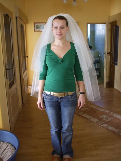 Naše predstavy na 05.04.2008 - závoj - velikánsky - 1,3 m dlhý, 3-vrstvový
