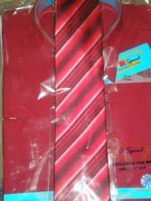 Košile a kravata pro mužíčka :-)