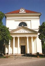 kostel ve Slavkově