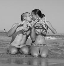 My dva na loňské dovolené na Thassosu . - )