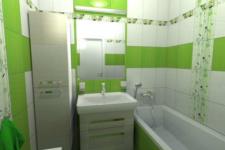 Finální verze návrhu koupelny