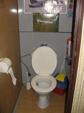 WC- umakart, budeme dělat nové zděné jádro.