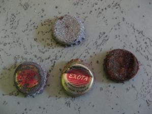 Tak tohle jsme našli nad jádrem, nealko pivo Exota 2kčs . - ))