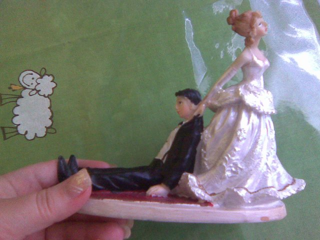Figurka na dort z bazaru tady na beremku