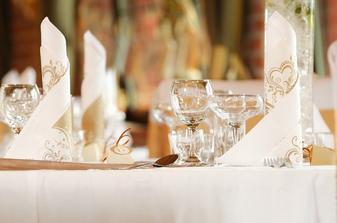 svadobne stolovanie