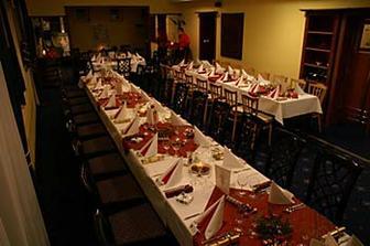 """Svatební tabule v """"naší"""" restauraci - jiná svatba ;-)"""
