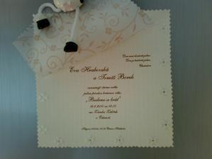 svatební oznámení II.