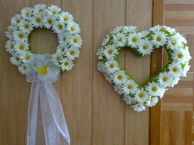 Wedding inspirations - Ozdoby na dvere