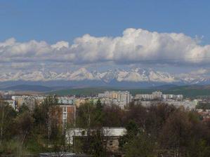 Ked je pekne tak vidíme Tatry