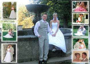 novomanželé JAMBOROVI :-))