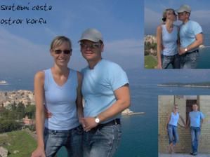 svatební cesta - Řecko, ostrov Corfu