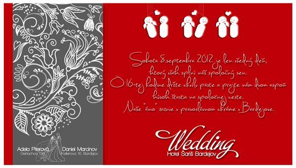 8.9.2012 - navrh nasho svadobneho oznamenia :))