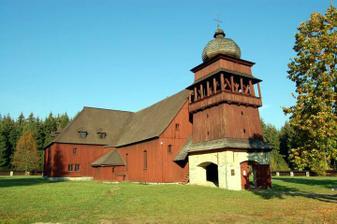 miesto činu : artikulárny kostol vo Svatom Kríži