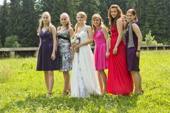 Zuzka, Lenka, Monika, Lenka, Janka a Lenka