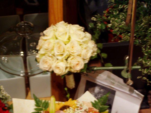 Pred svadbou - svadobná kytička
