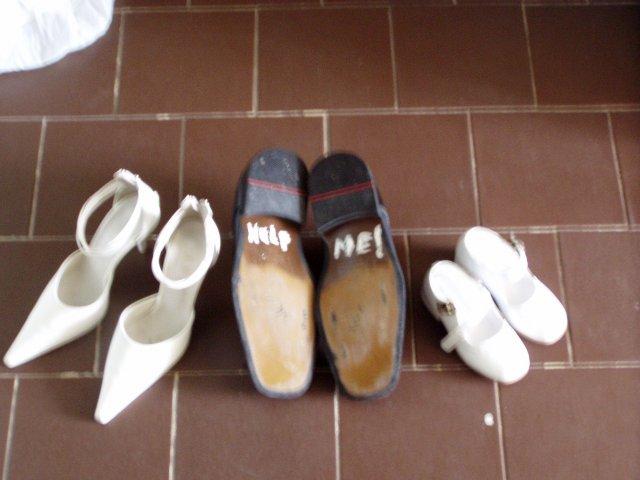 Pred svadbou - ...ešte raz... topánočky a topánky