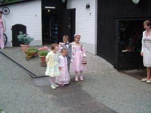 Zleva: Denča, Agátka, Štěpulda, Terča
