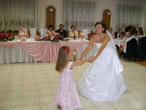 vždy chcela tancovať len s nevestou