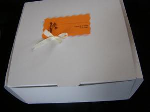 Už jsme začali skládat krabičky na výslužky, ať se na to potom nezapomene...