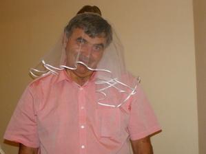 Večer pokročil:-) Tatínek nevěsty:-)