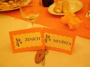 Ženich a nevěsta dostali stylově k datu plného sedmiček i pokoj číslo 7:-)