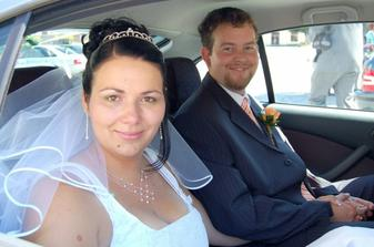 Novomanželé Rohrerovi:-)