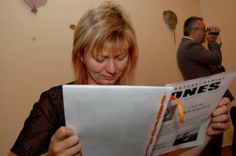Měli jsme i svatební noviny.