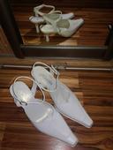 Bílé lodičky Klaudia, 35